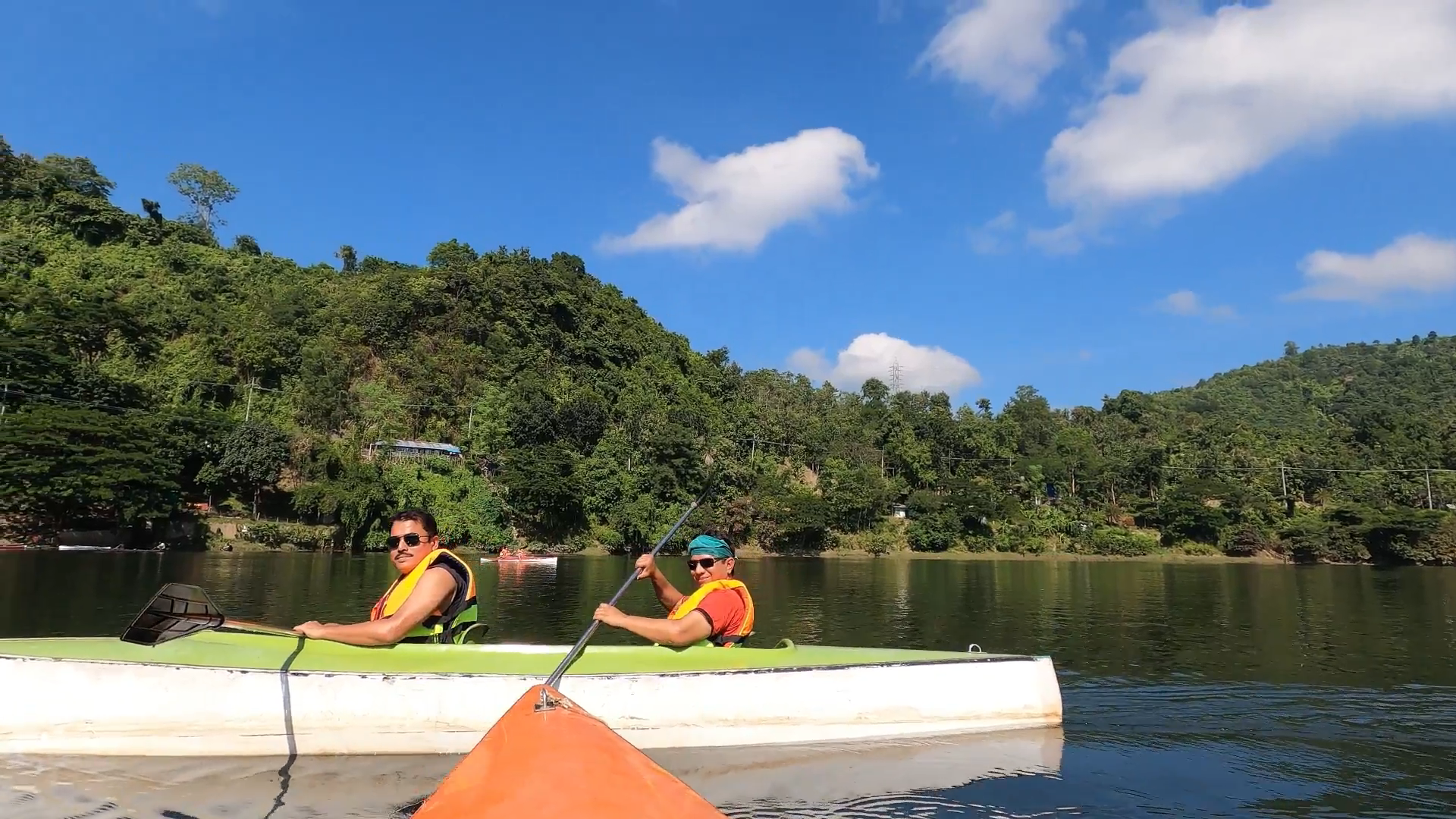 Chattogram Rangamati Bike Tour Via Kaptai With Gopro Hero 8 Black: Kayaking Session| Panaroma Zoom